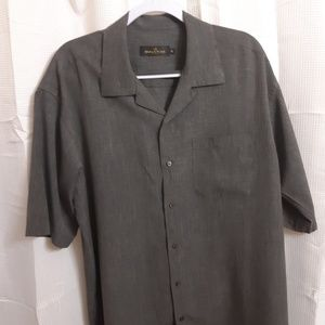 Bugatchi Short Sleeve Button Up Shirt
